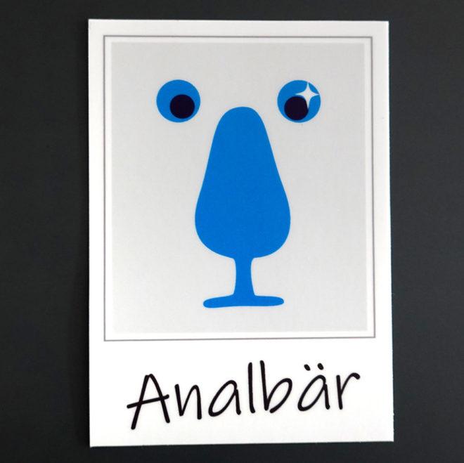 Sticker Analbär